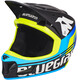 bluegrass Brave Fullface Helm black/cyan/fluo yellow